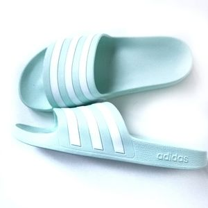 Adidas slides sandals for women BRAND NEW size 8